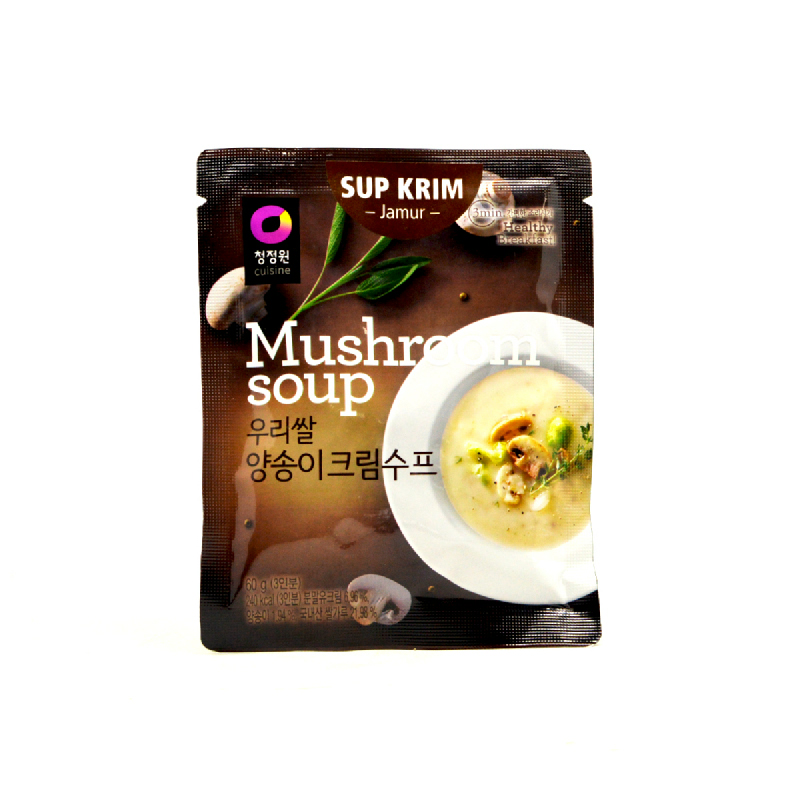 Chung Jung Won Daesang Instant Soup Mushroom 60 Gr