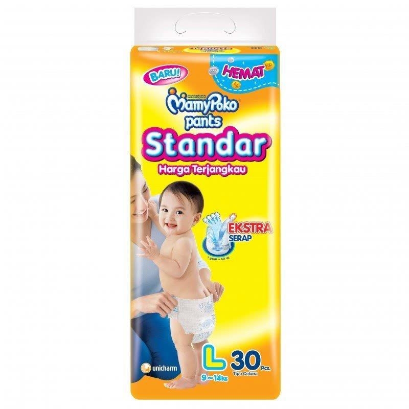 Mamypoko Popok Celana Standar L 30 Sheet