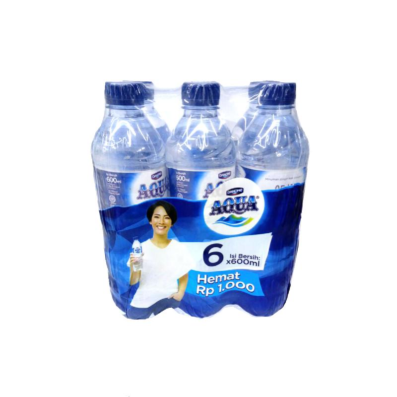 Aqua Air Mineral Banded 6 Pcs (1 Pcs 600 Ml)