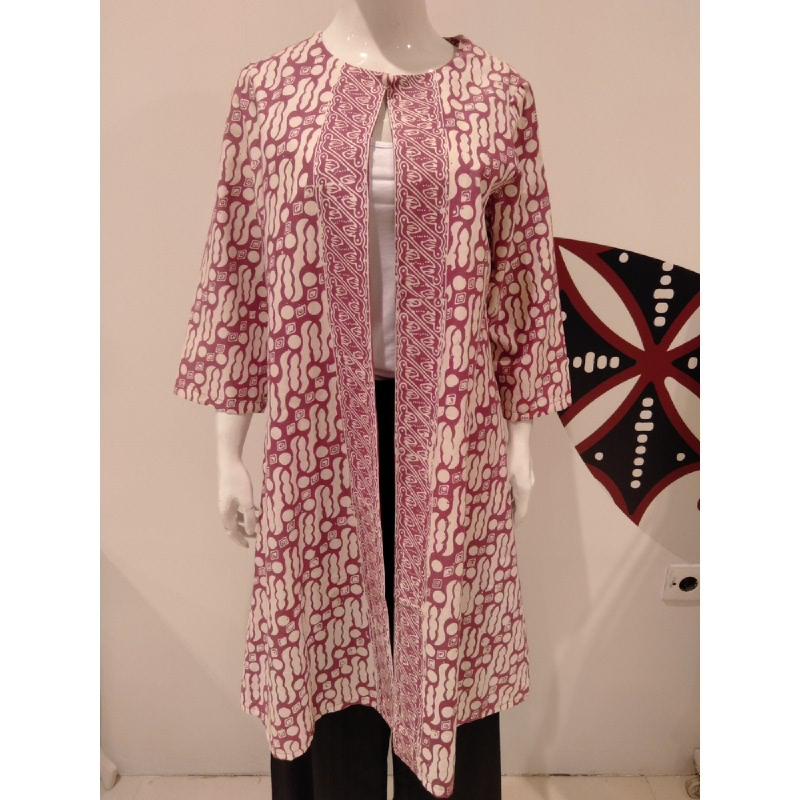 Astari Batik Coat Pink