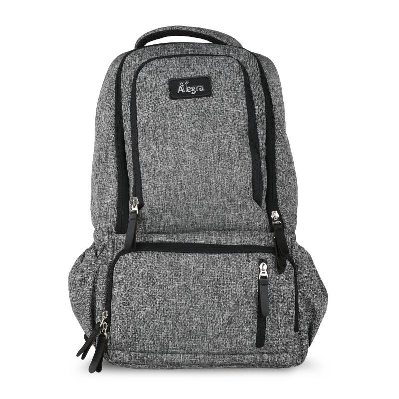 Allegra Martin Cooler Diaper Bag Backpack Grey