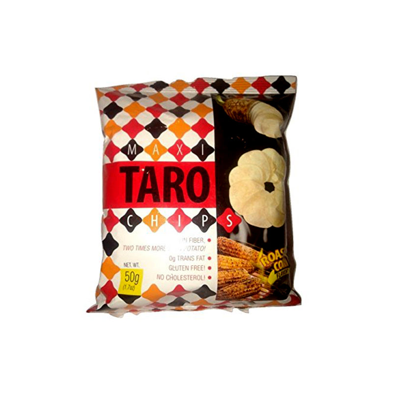 Maxi Taro Chips Roasted Corn 50G
