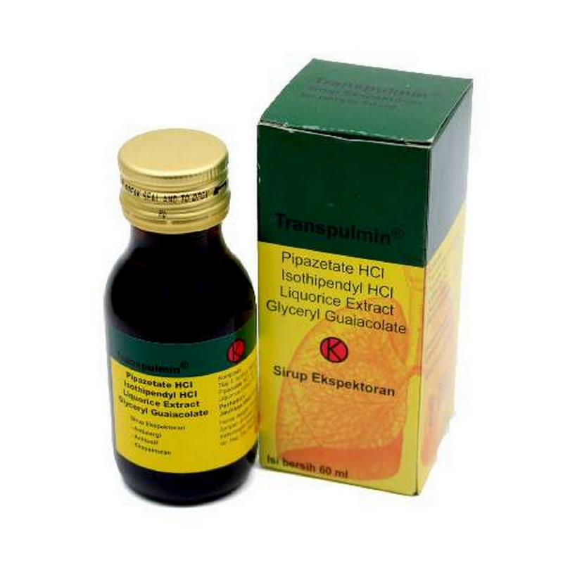 Transpulmin Sirup 60 ml
