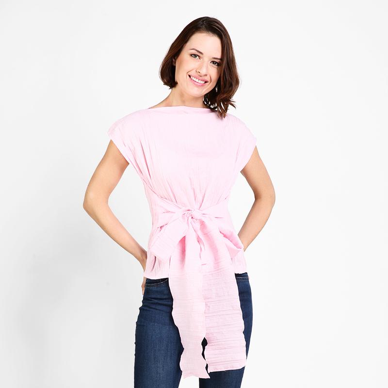 Basa Valentina Pink Stripes Blouse