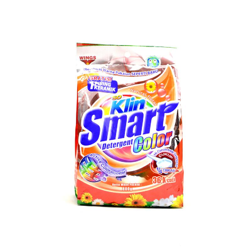 So Klin Det Smart Color Pouch 800Gr