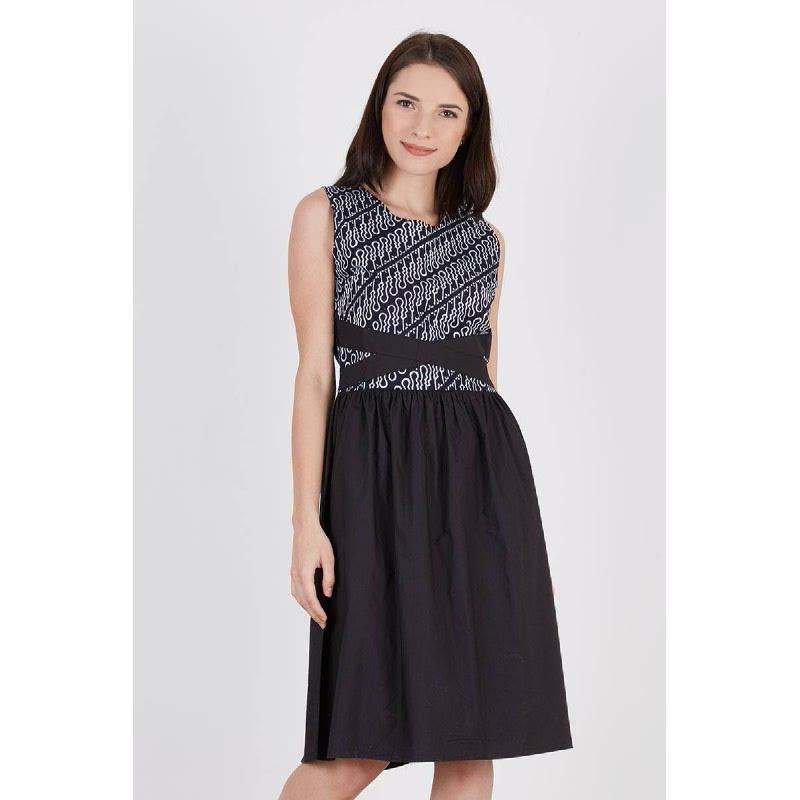 Shiraz Batik Dress Black