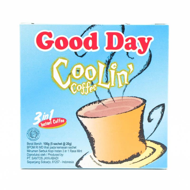 Good Day Kopi Coolin Box 5x20g