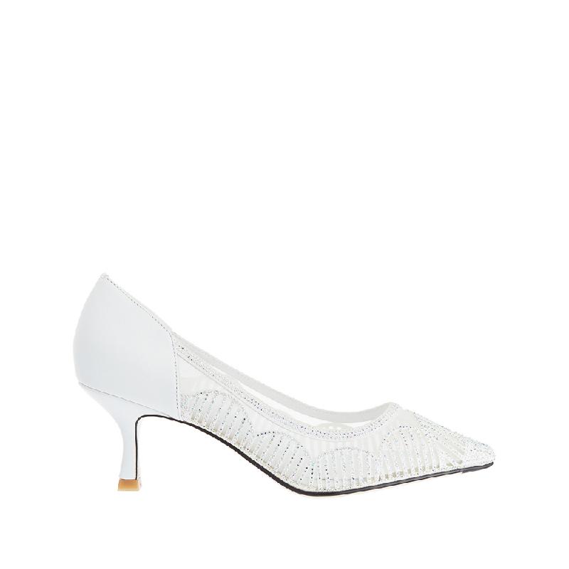 Andre Valentino Danella Heels White