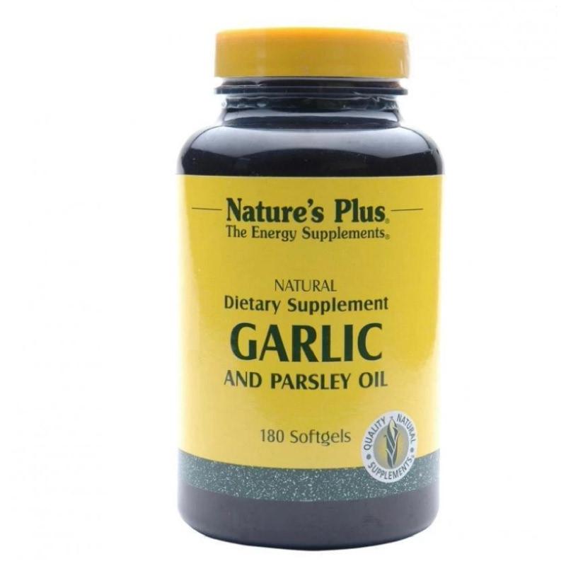 Garlic and Parsley Oil - 180 Softgels