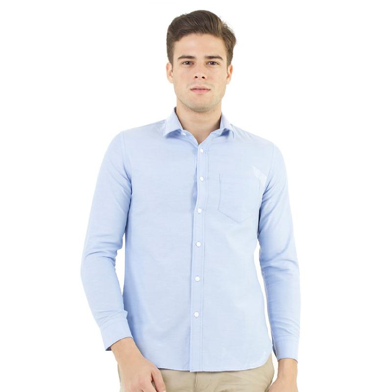 Manzone Men's Top Tadeo Bestbuy Biru Muda