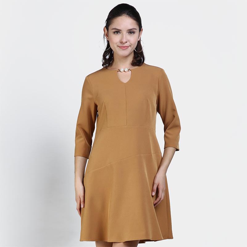 Invio Haley ID-756 Brown Dress
