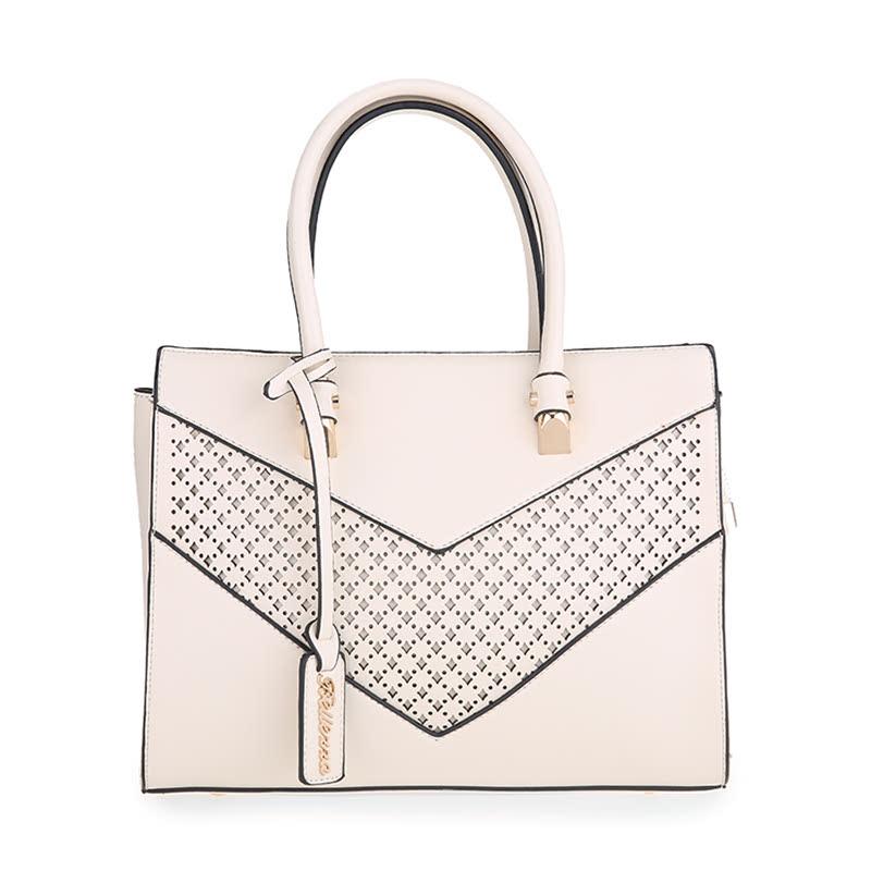 Bellezza Hand Bag 2077-38 Off White