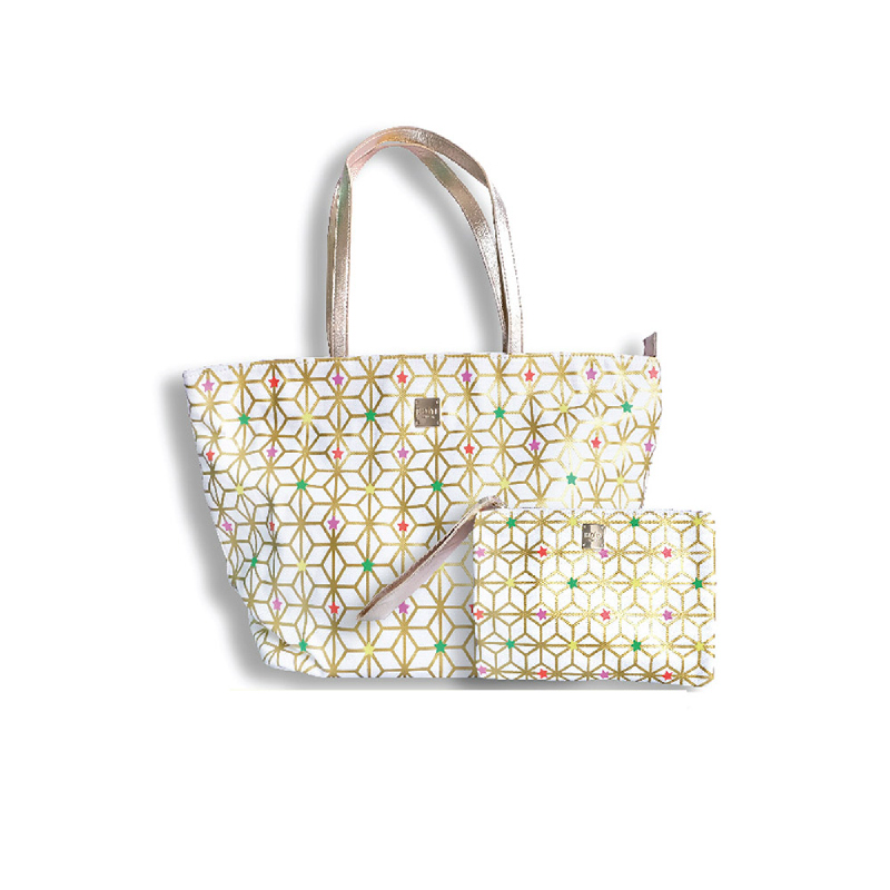 Boite Starry Geometric Shopper Bag