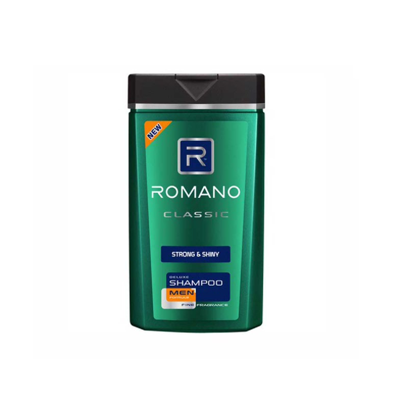 Romano Men Shampoo Classic Strong & Shiny 170 Ml