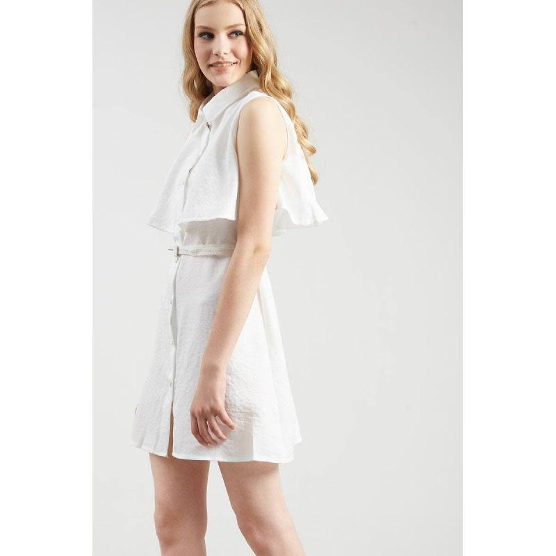 Francois Russel Dress in White