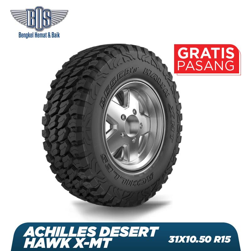 Achilles Ban Mobil Desert Hawk X-MT - 31X10.50 R15 6PR LT 109Q - GRATIS JASA PASANG DAN BALANCING