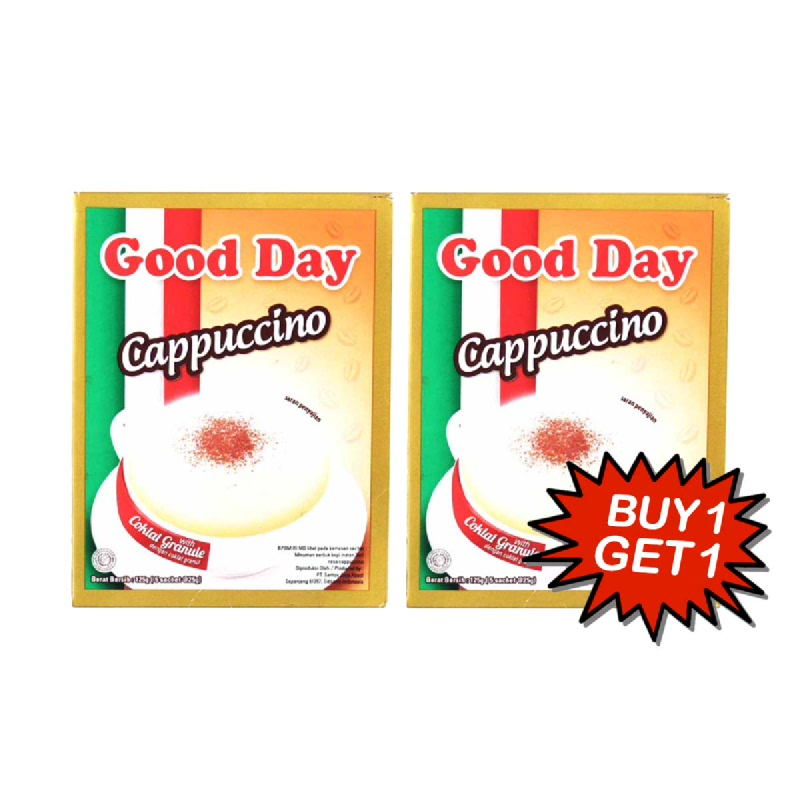 Good Day Kopi Capucinno 5x25 Gr (Buy 1 Get 1)