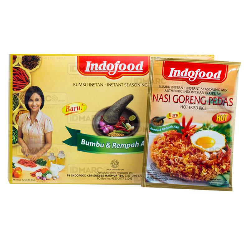 Bumbu Indofood Nasi Goreng Pedas Box