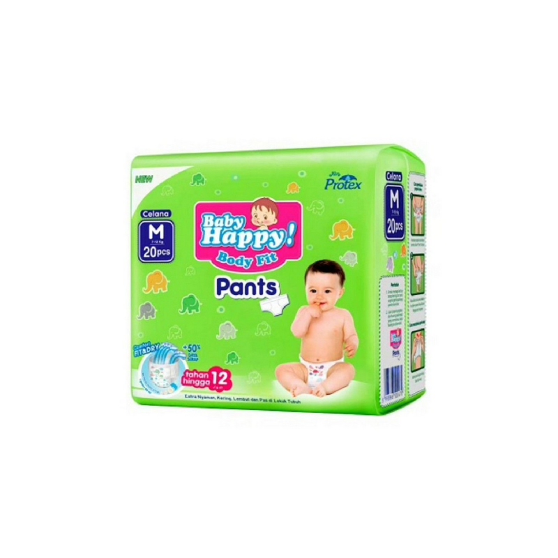 Baby Happy Diaper Pants M 20