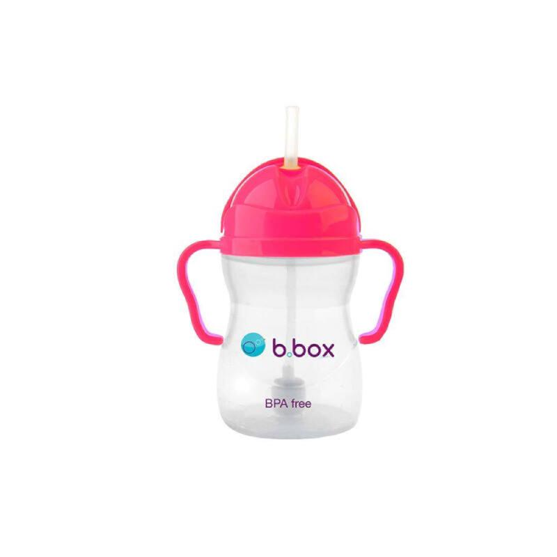 B Box Sippy Cup Pink Pom