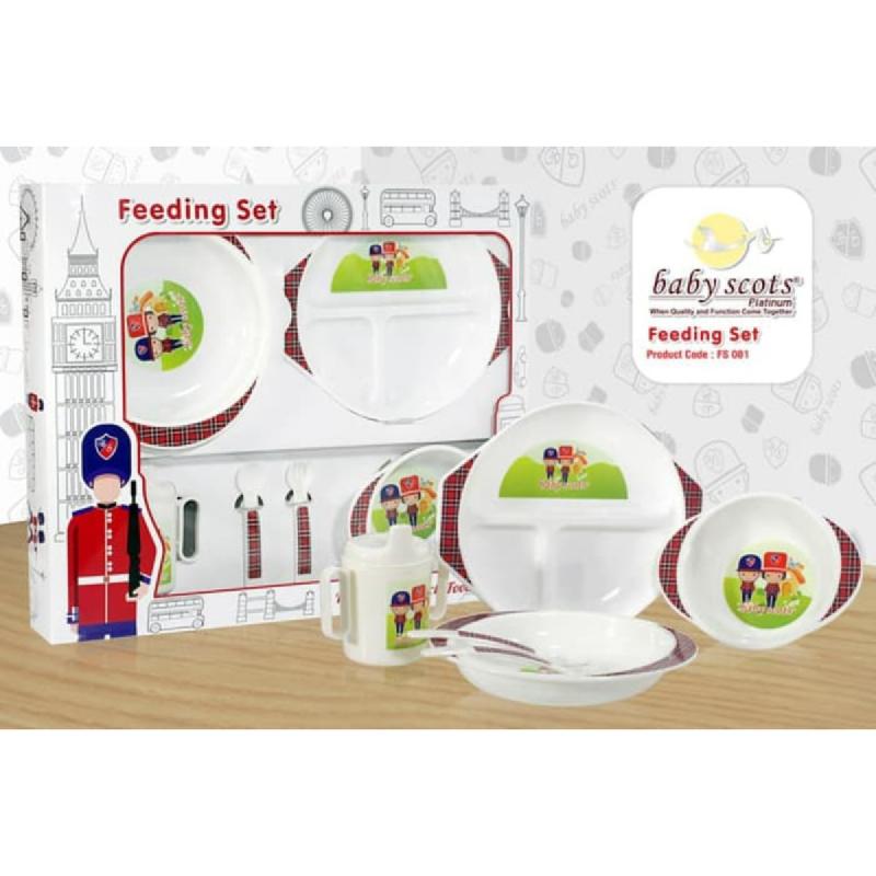 Baby Scots Feeding Set Type 01FS001 White