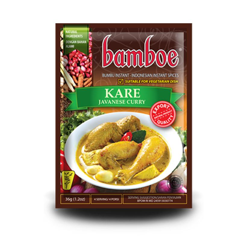 Bamboe Bumbu Kare 35 Gram