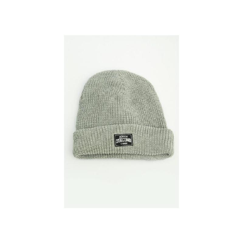 3Second Men Beanie Hat 0205 Grey