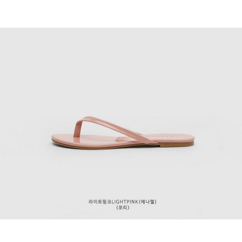 SAPPUN Penny Sue Daley Slippers (1cm) - Light Pink Enamel