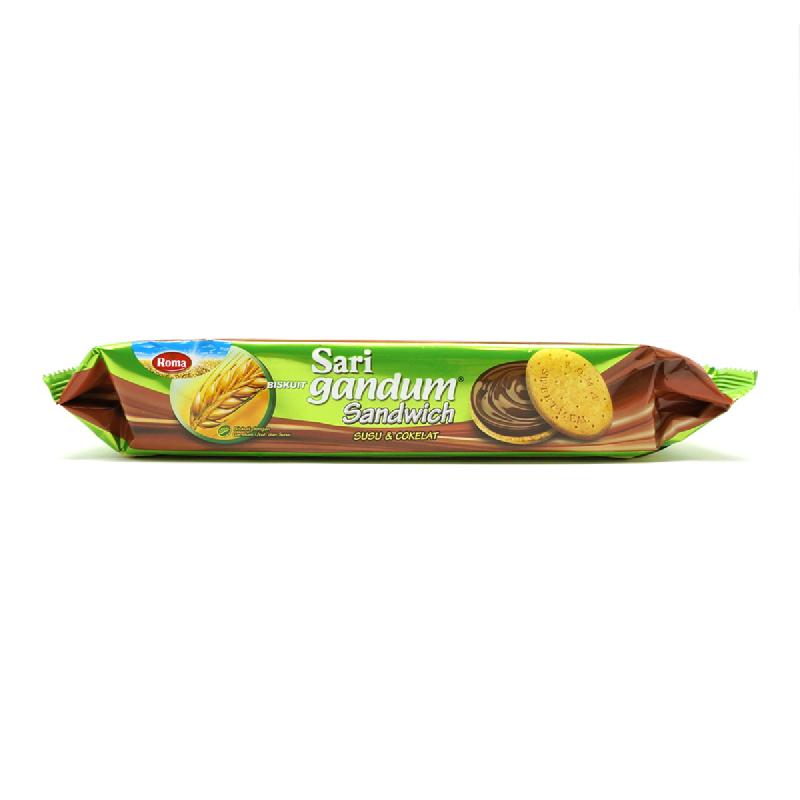 Roma Sari Gandum Susu + Coklat 115G