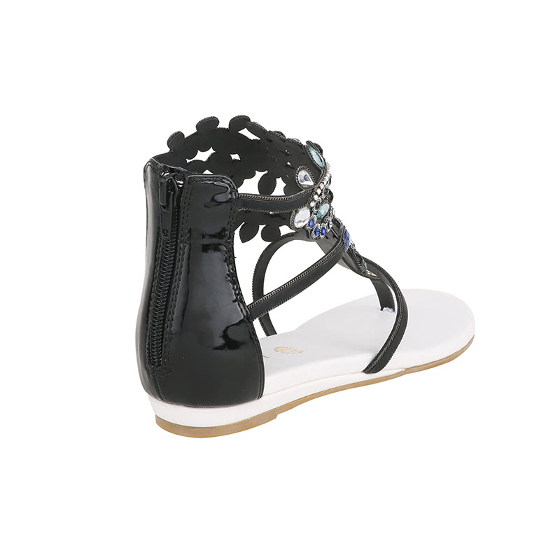 White Open Toe Shoes