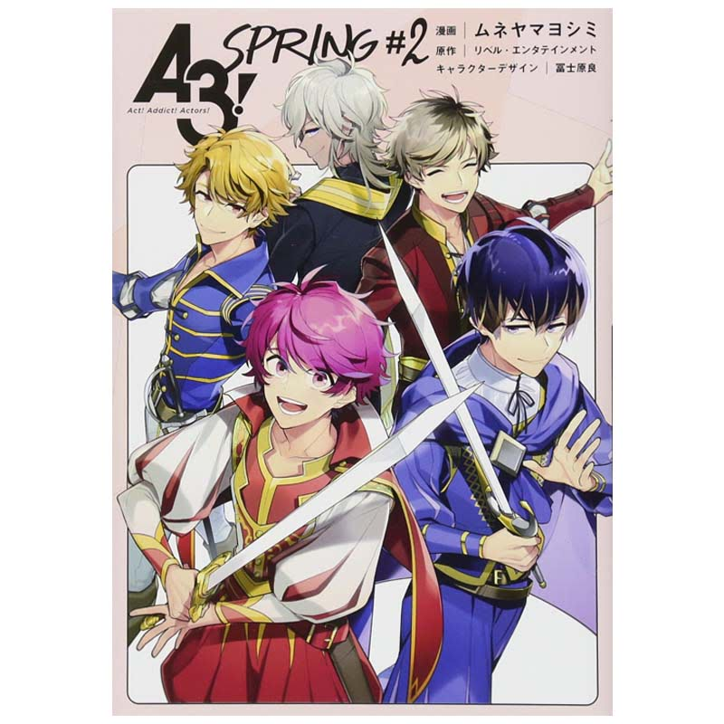 A3 ! SPRING 2 (Japanese Version)