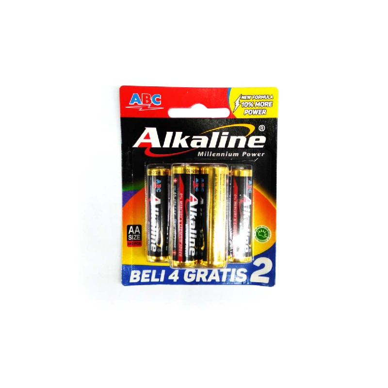 Abc Baterai Alkaline LR-06 MP 4B