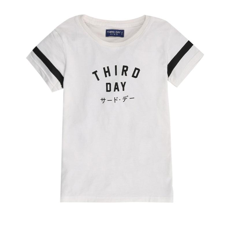 Short Sleeves Boys Thirdday Simple