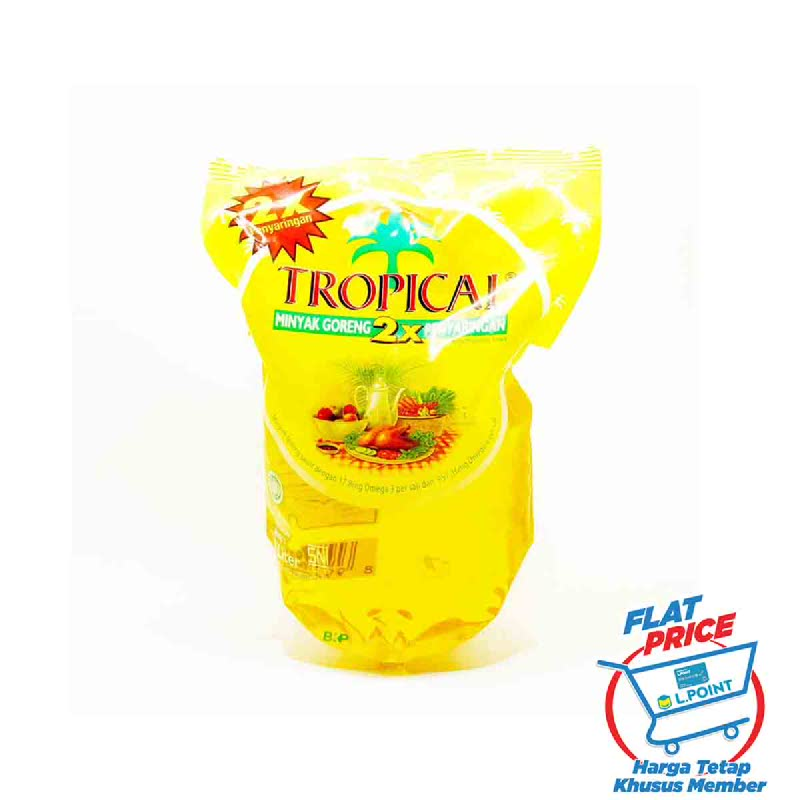 Tropical Minyak Grg Pouch 2 L (Flat Price)