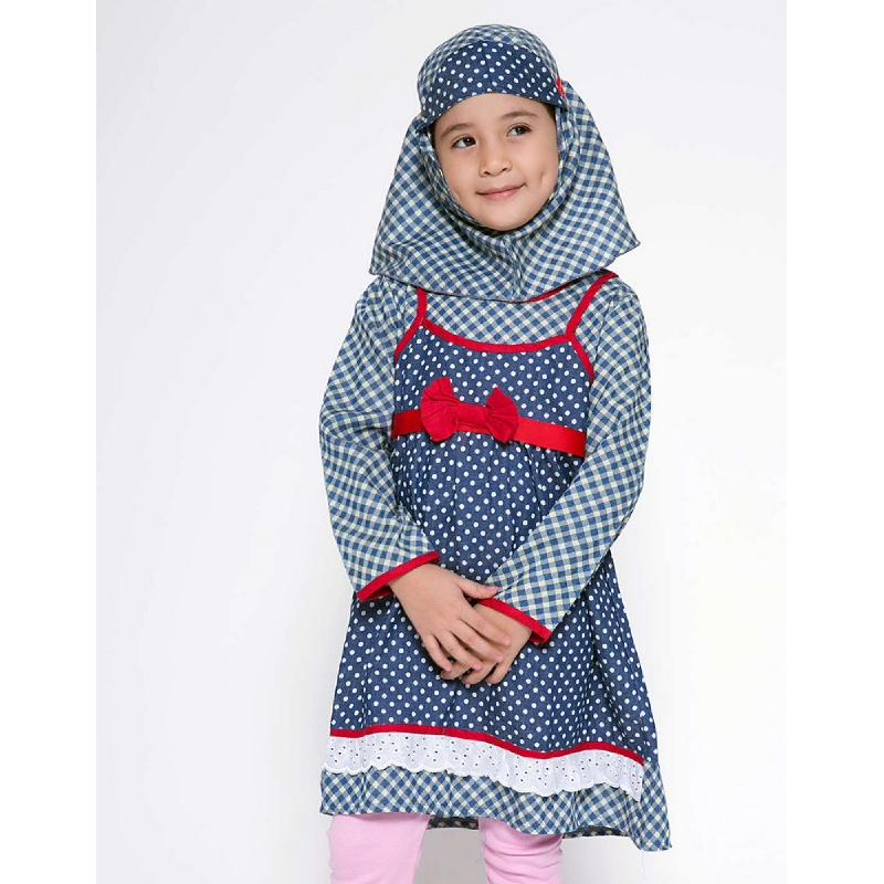 4 You Moslem Long Dress Merah