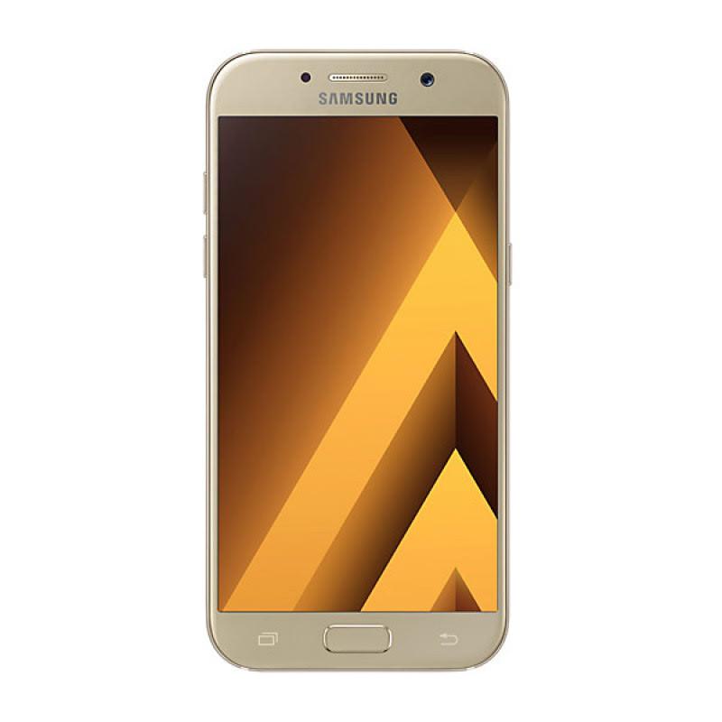 Samsung Galaxy A7 2017 - Gold Free Jabra Stealth Birutooth Headset
