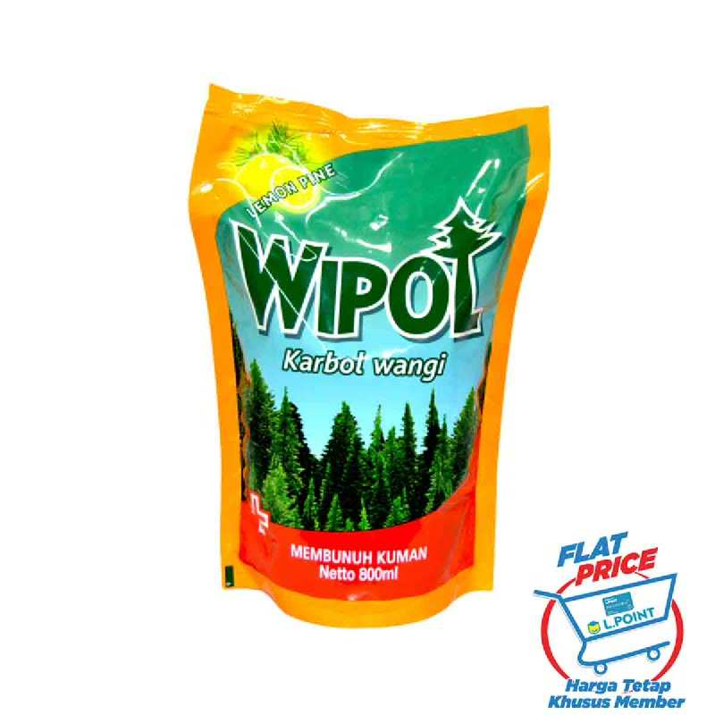 Wipol Lemon Pine Refill 780 Ml (Flat Price)