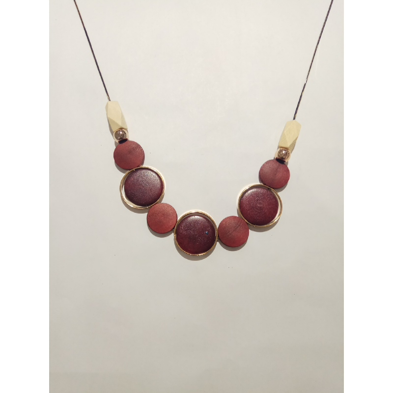 Ballin - Women Necklace GZ N1039 Red