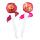 Chupa Chups Lip Locker Raspberry 7g + Strawberry and Cream 7g