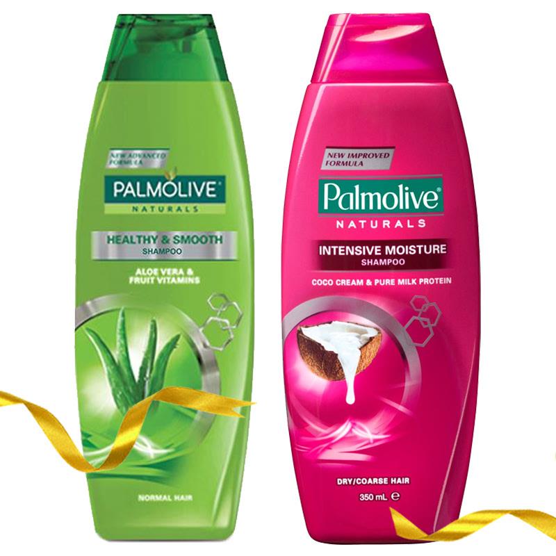 Palmolive Shampoo Healthy & Smooth 180 ml + Palmolive Shampoo Intensive Moisture 180 ml