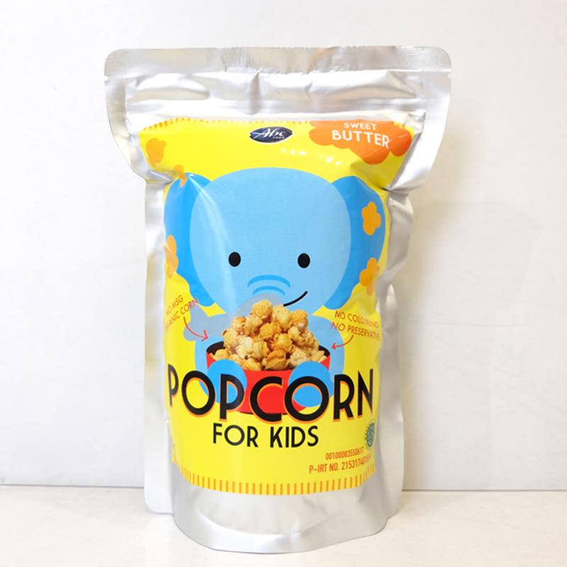 Abefood Sweet Butter Pop Corn For Kids