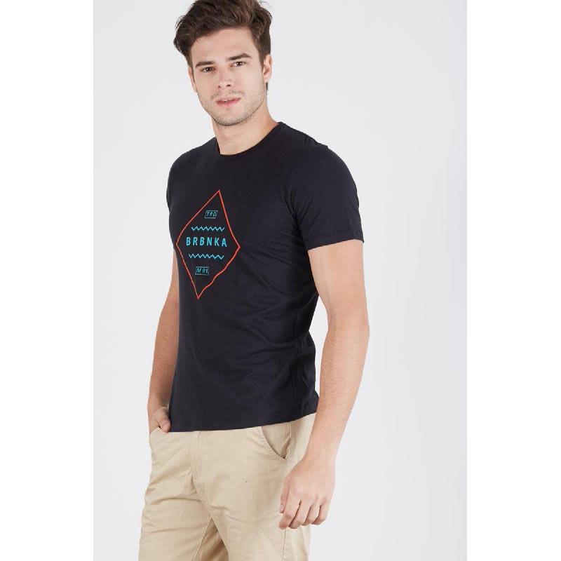 Men Berrybenka Trademark Tshirt Black