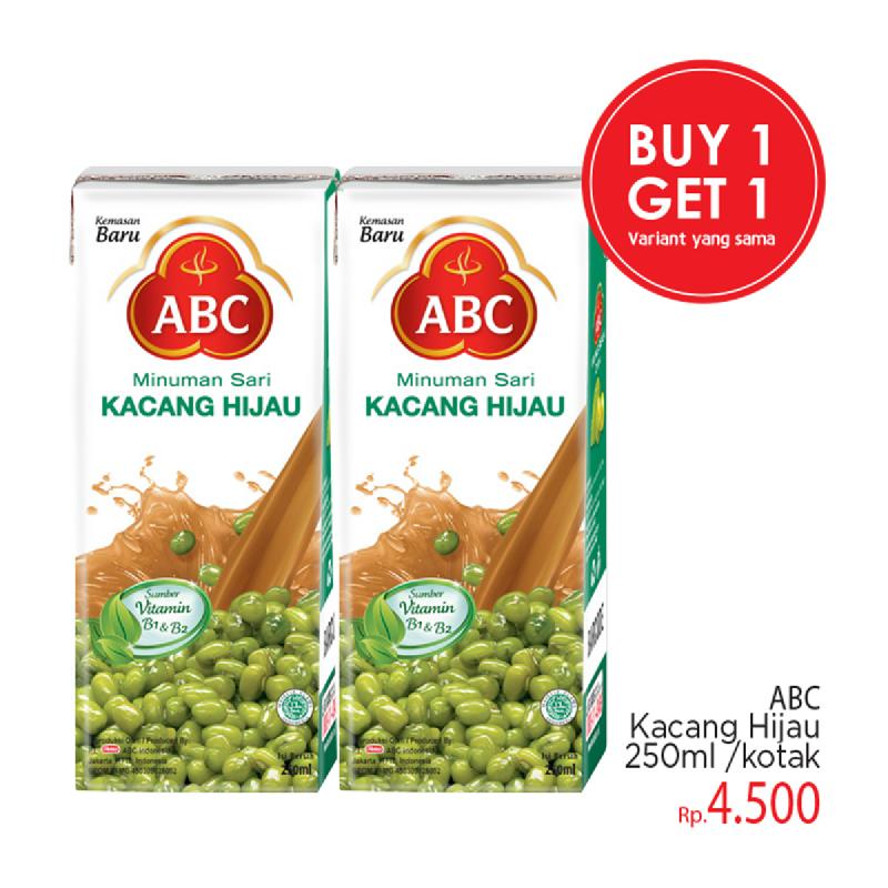 Abc Sari Kacang Hijau 250Ml (Buy 1 Get 1)