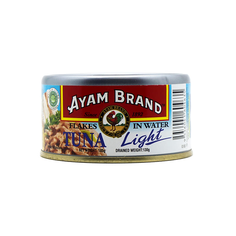 Ayam Brand Tuna Flake Light In W 185 Gram