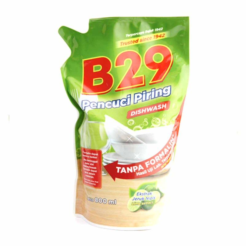 B29 Dish Wash Green Refill 800Ml
