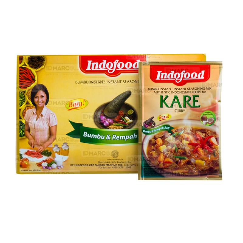 Bumbu Indofood Kare Box