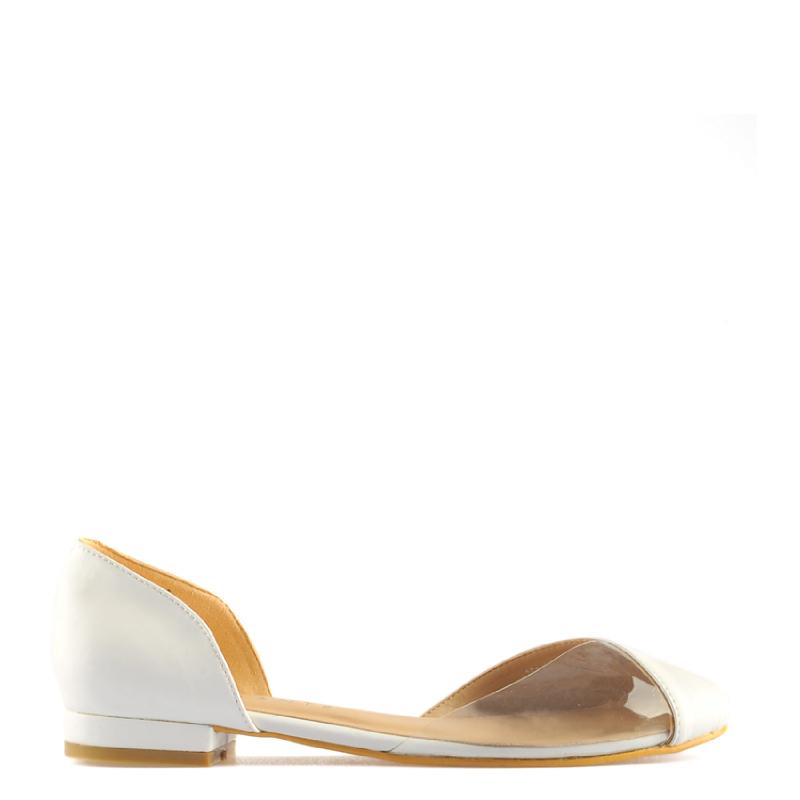 Amante Flat Shoes Marina K18 White