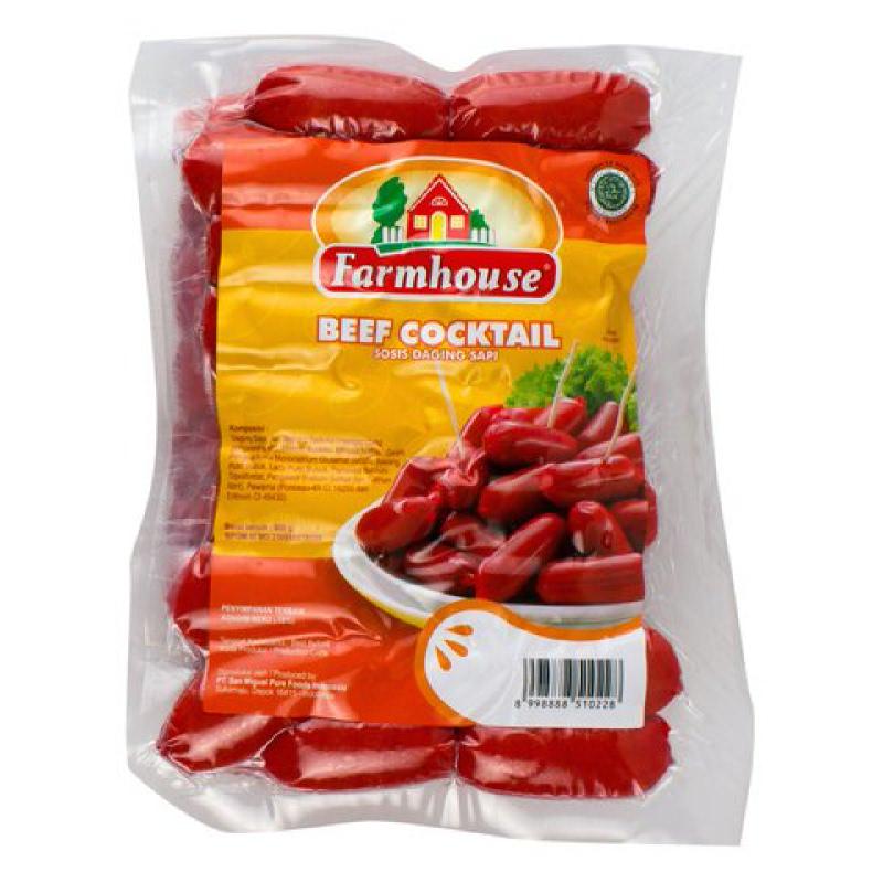 Farmhouse Sosis Sapi cokctail 800 gr (24 pcs)