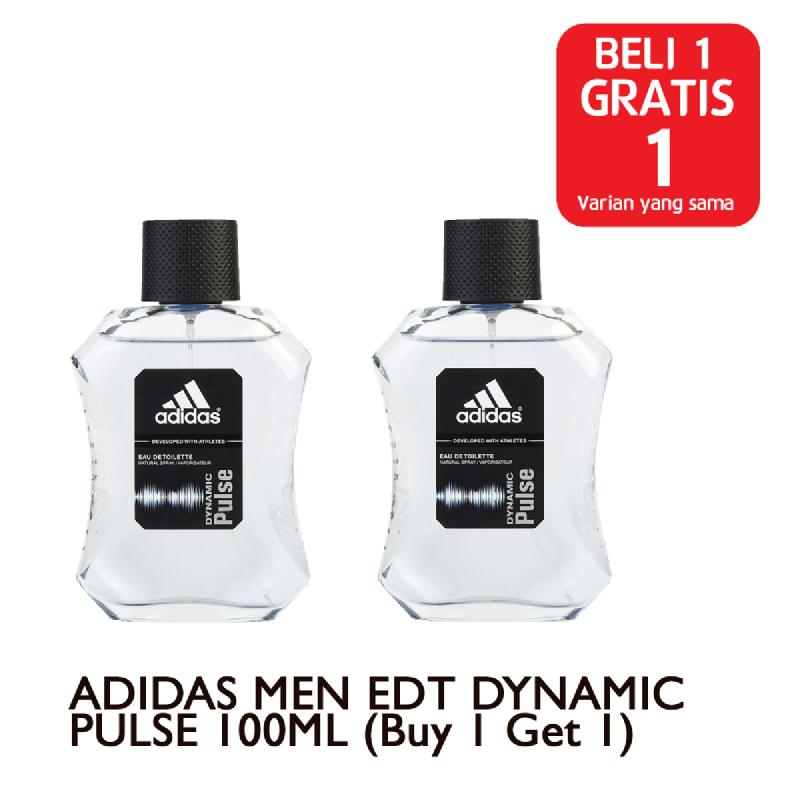 ADIDAS MEN EDT DYNAMIC PULSE 100ML (Buy 1 Get 1)