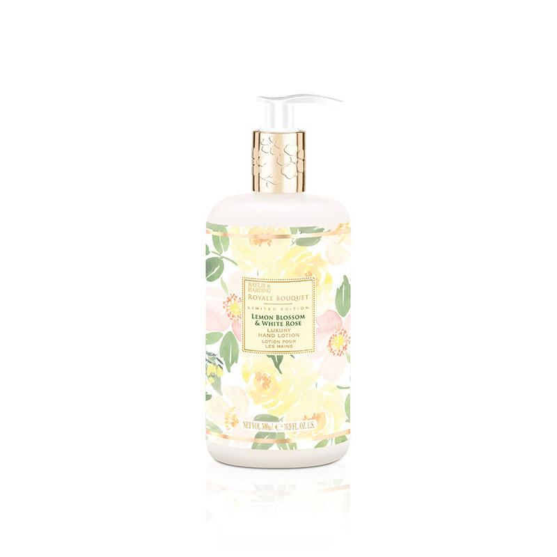 Baylis & Harding Royal Bouquet Lemon Blossom & White Rose 500 Ml Hand&Body Lotion